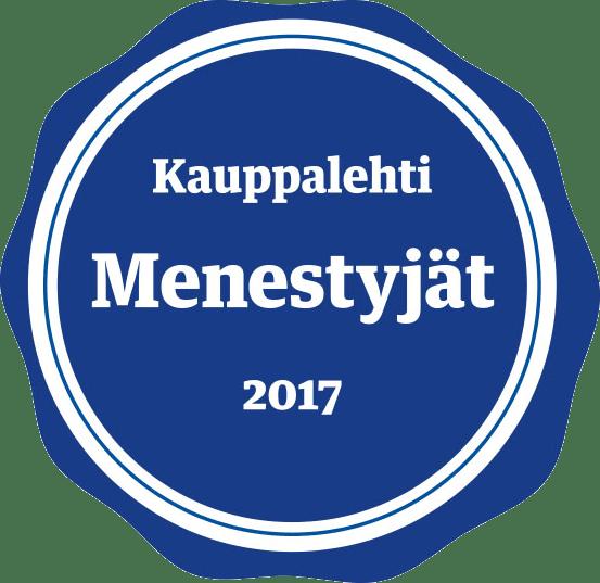 Auctoralle myönettiin Kauppalehden vuoden menestyjä sertifikaatti